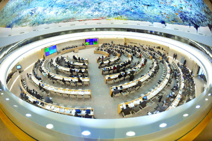 United Nations Human Rights Council.