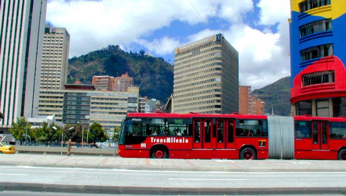 Articulado en Centro de Bogotá.