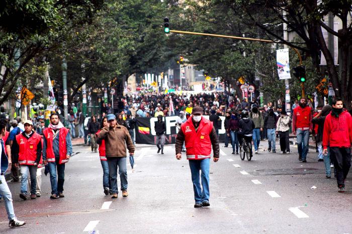 Marchas estudiantiles 15 de noviembre.