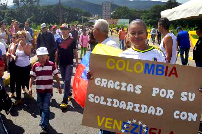 Migración venezolana.