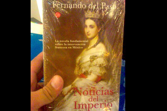 Noticias del Imperio, novela de Fernando del Paso