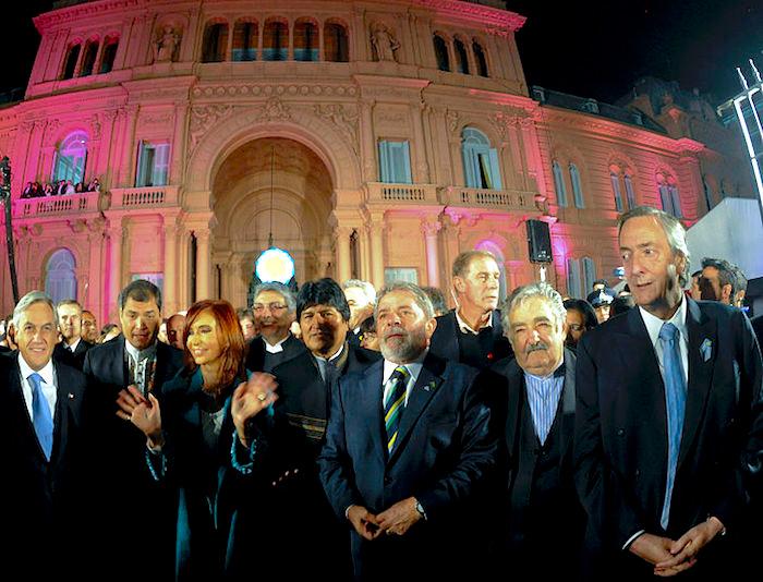 Presidentes de izquierda en América Latina