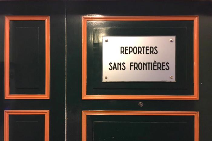 Reporteros sin Fronteras.