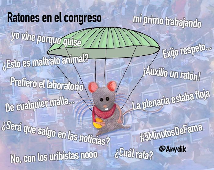 Ratones en el congreso