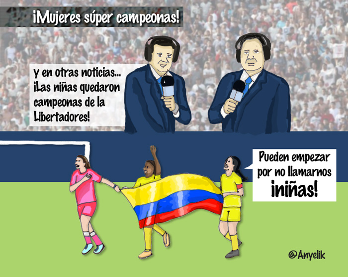 Mujeres super campeonas