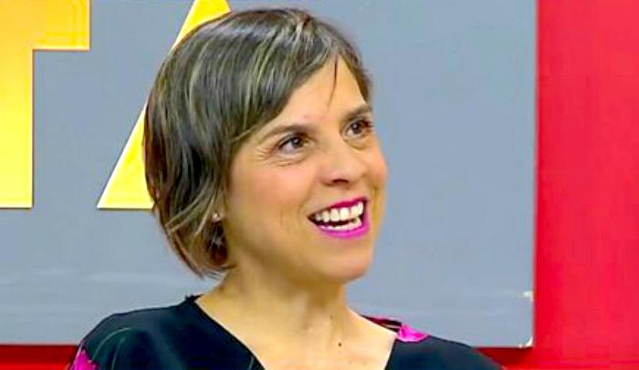 Margarita Martínez, autora de La Negociación