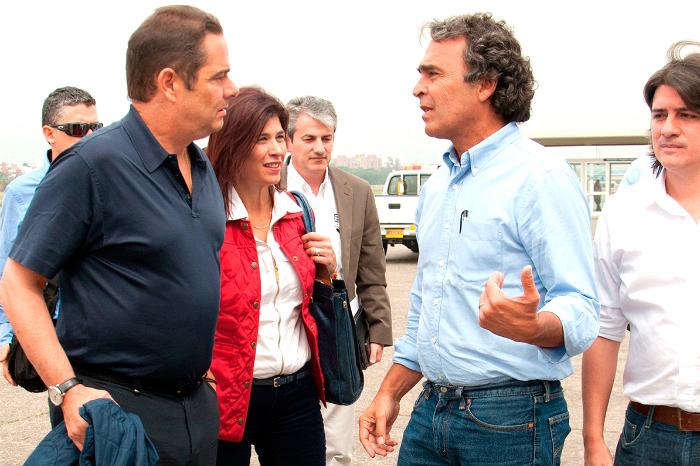 Sergio Fajardo y Germán Vargas Lleras.