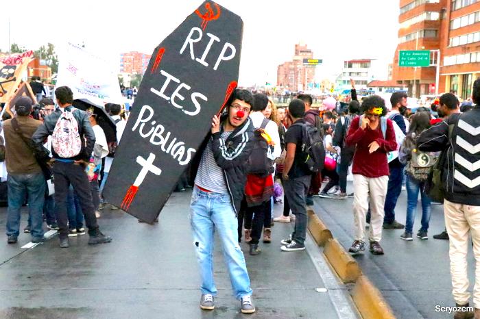 Marchas estudiantiles.