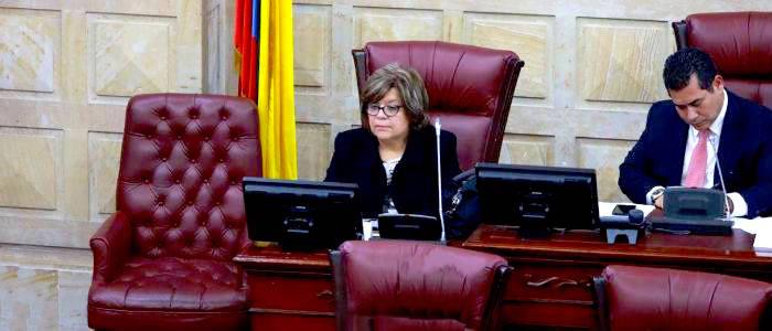 Ministra de Justicia, Gloria María Borrero