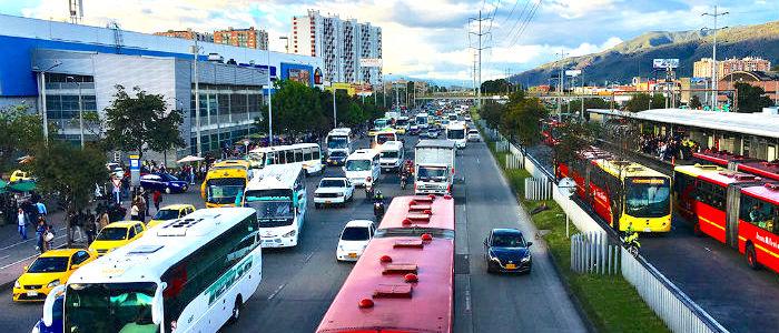 Movilidad en Bogotá.