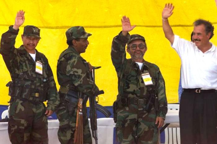 Negociaciones del gobierno Pastrana con las FARC.