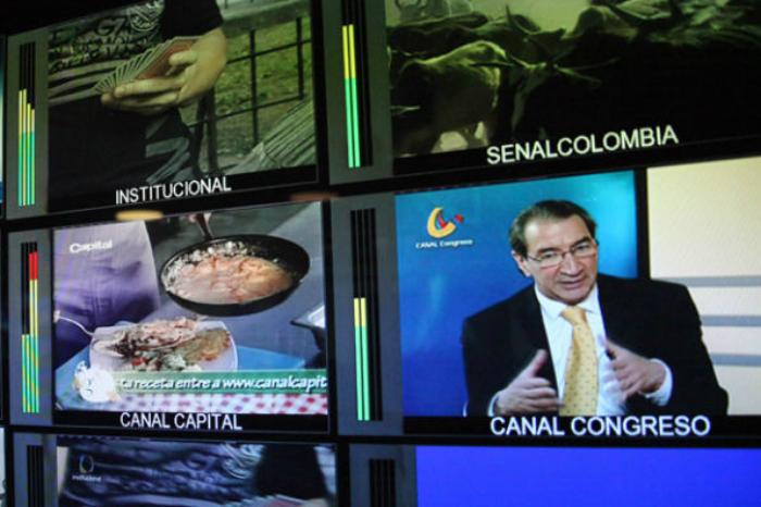 Televisión colombiana.