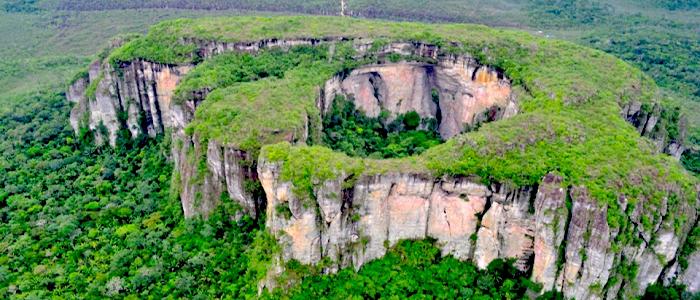 El PNN Chiribiquete hace parte del mosaico de áreas protegidas y de resguardos indígenas.