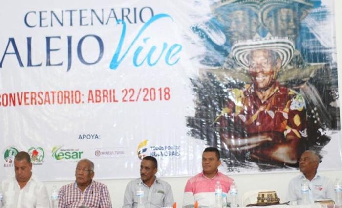 Centenario del nacimiento de Alejo Durán.