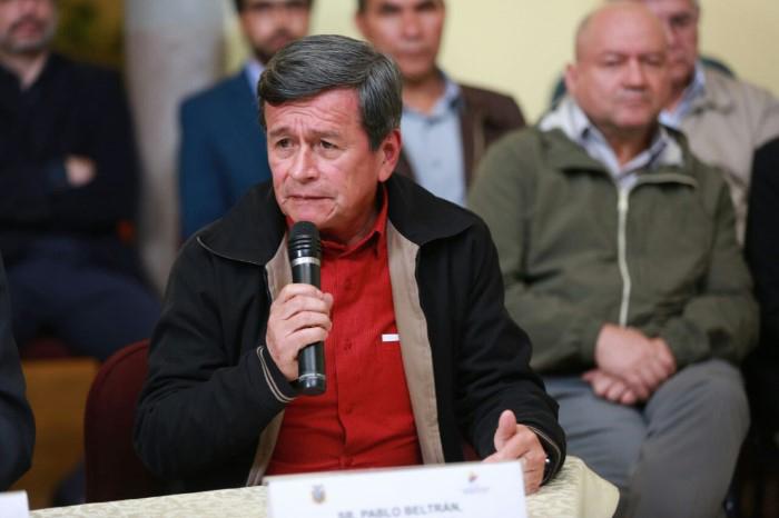 Pablo Beltrán, jefe negociador del ELN.