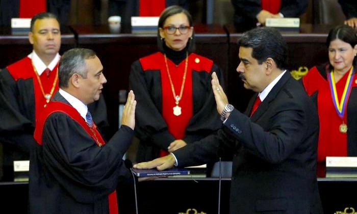 Posesión de Nicolás Maduro para el periodo 2019-2025