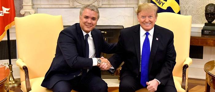 Reunión Duque-Trump.