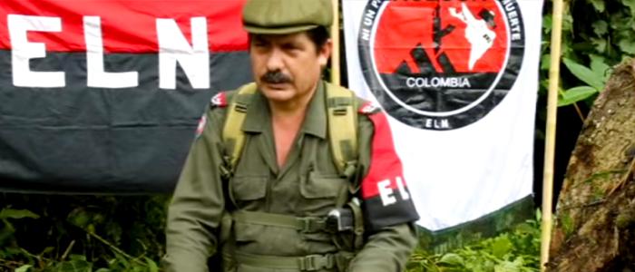 Pablito, el hombre de guerra del ELN.