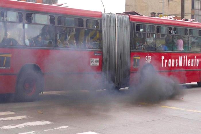 El problema con la calidad del aire en Bogotá parece lejos de solucionarse.