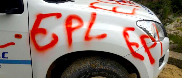 La violencia del EPL en Norte de Santander.