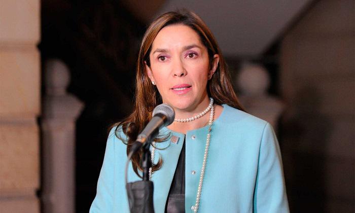 María Fernanda Suárez, ministra de minas..