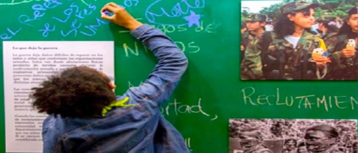 Miles de niños han muerto a causa del conflicto colombiano.