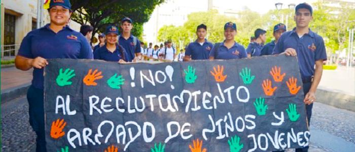 Los niños afectados por el conflicto no sólo han sido los reclutados por las guerrillas.