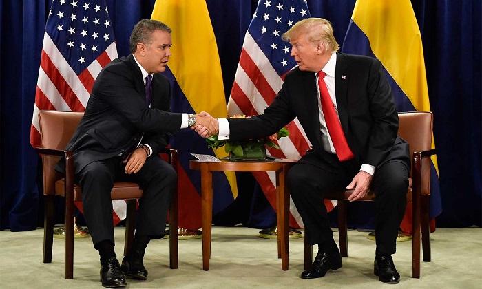 El objetivo de Trump y Duque es liberar a Venezuela de  Maduro.