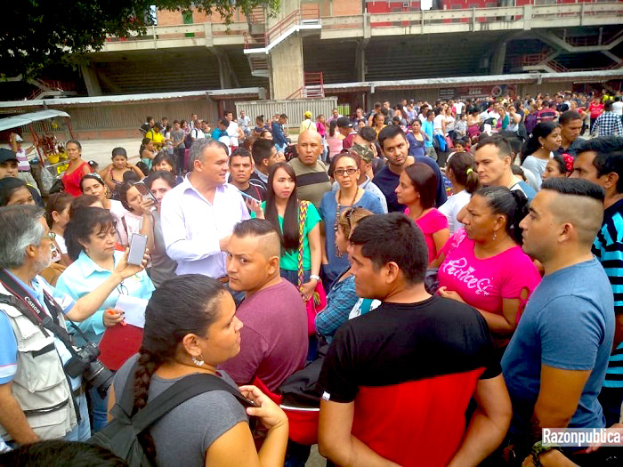 desempleo crisis venezolana