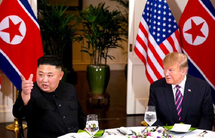 Reunión Kim Jong y Donald Trump