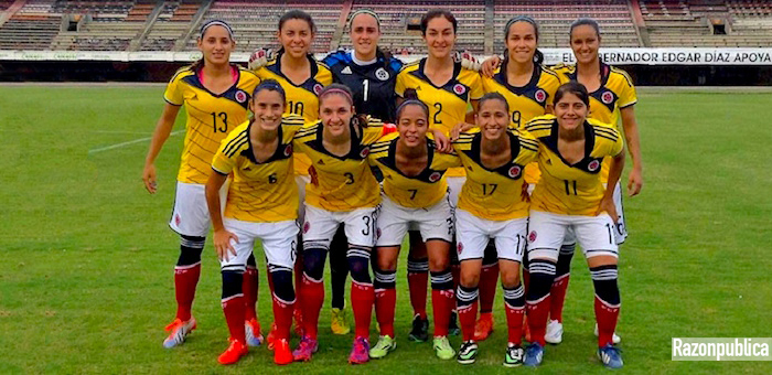 Selección femenina de futbol Colombia