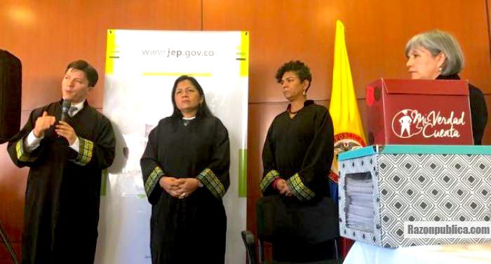 Magistrados de la JEP.
