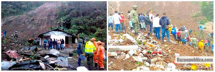 Tragedia en Rosas, Cauca
