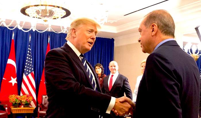 Erdogan y Trump.