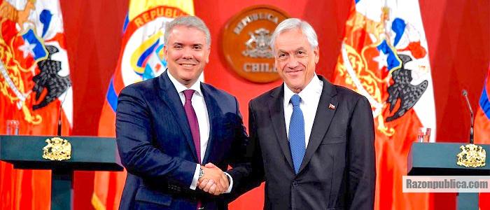 Sbastián Piñera dio su apoyo a la iniciativa de integración de Duque.