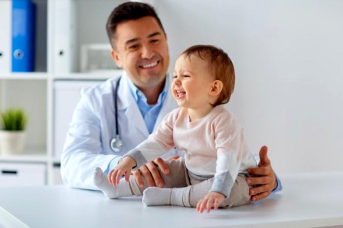 Atención médica para niños.