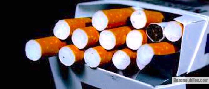 La industria tabacalera está implicada en el contrabando de cigarrillos