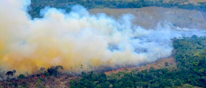 incendio forestal  amazonas colombia