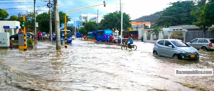 Inundaciones en las ciudades por la temporada de lluvias