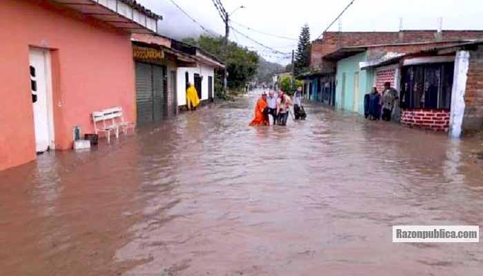 Inundaciones por las fuertes lluvias