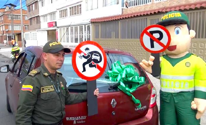 campaña policia