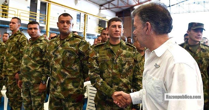 En el gobierno Santos se busco convencer a los militares de que la JEP resolveria su situacion