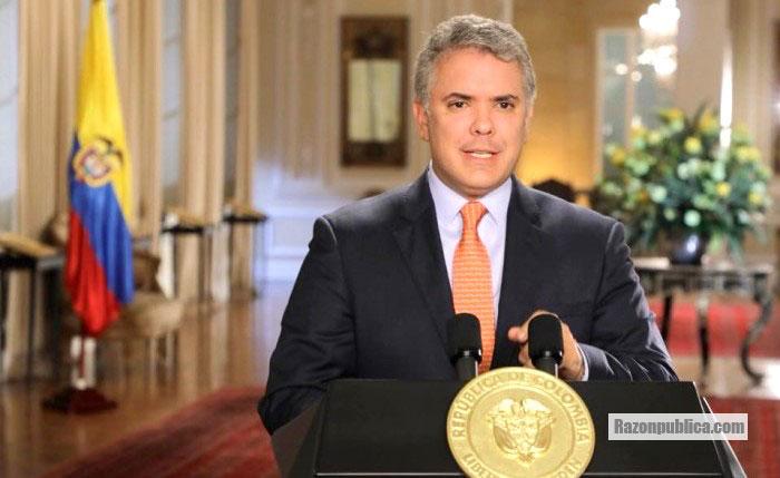 Declaraciones de Ivan Duque frente a la decision de no extradicion de Santrich de la JEP.
