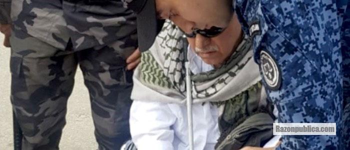 Libertad y recaptura de alias Jesús Santrich