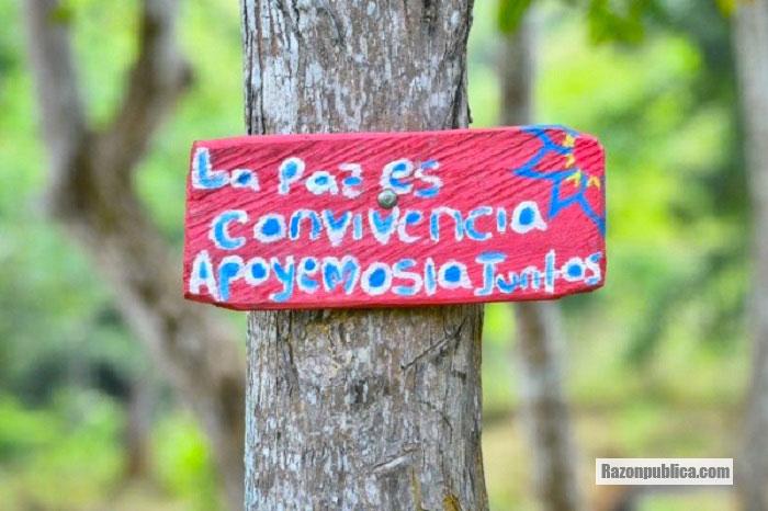 Muchas de las regiones afectadas por el conflicto apoyaron a las FARC en las elecciones.
