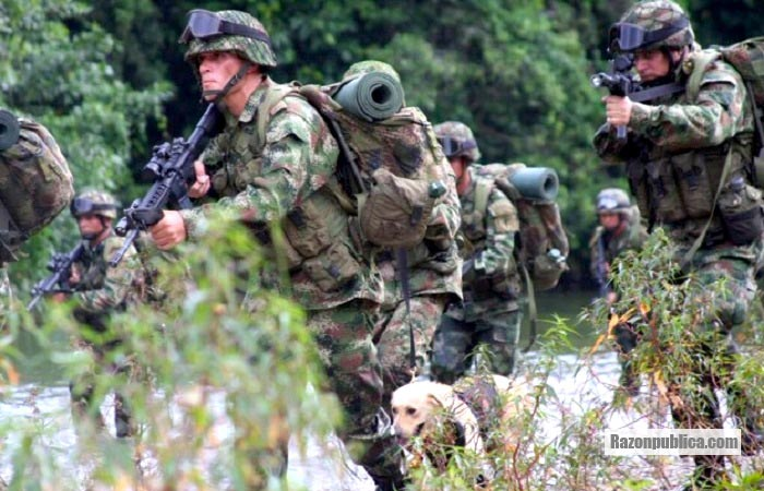 Hoy son 1995 militares y policias que se han acogido a la JEP