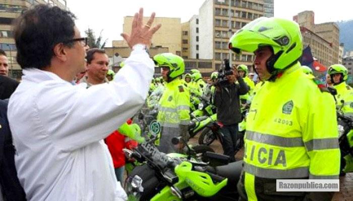 Gustavo Petro y la seguridad en Bogotá.