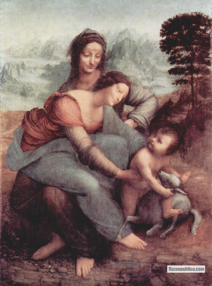 La Virgen, el NIño Jesús y Santa Ana (1510-13)
