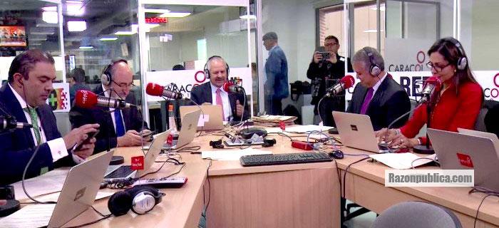 Presidente Duque en Caracol Radio