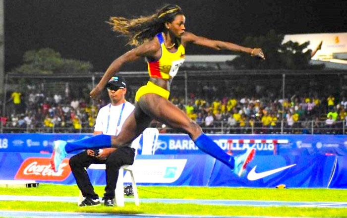 Katherine Ibargüen, una de las deportistas mas destacadas